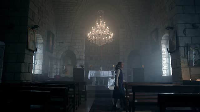 L'aveugle de la cathédrale